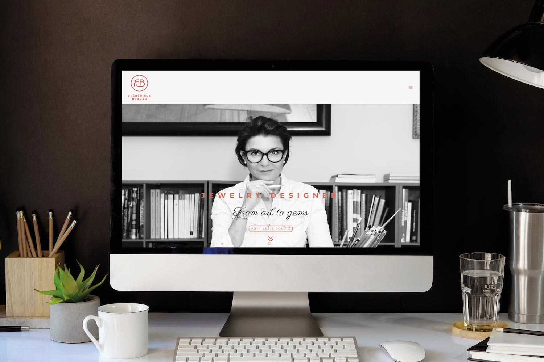 FrédériqueBerman_Webdesign