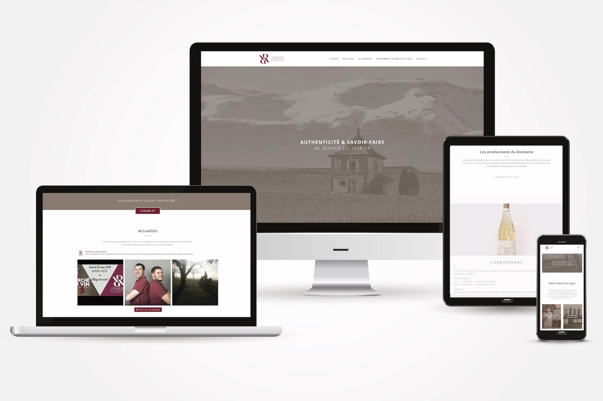 Domaine-des-Esserts_Webdesign
